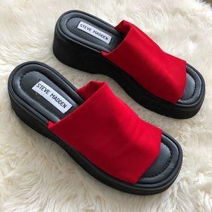 Rare Vintage Steve Madden 90's Platform Sandal